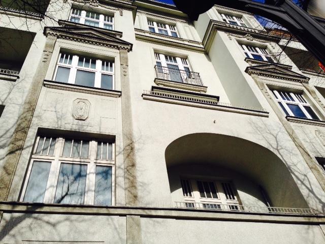 Kaiserdamm-Fassade